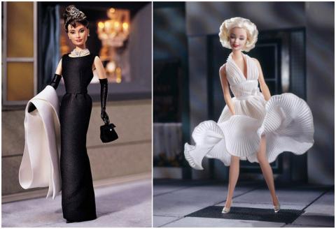 """10 знаменитых женщин, ставших моделью для кукол """"барби"""""""