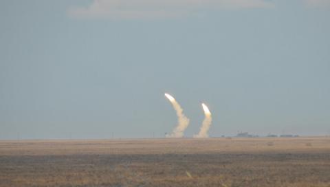 Украина провела военные учен…