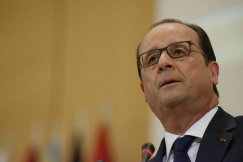 Франсуа Олланд нагрубил Трампу