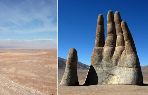 Атакама протягивает руку: тайны и достопримечательности самой сухой пустыни на планете