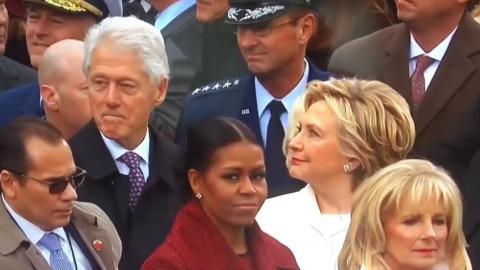 Хиллари подловила Билла, гла…