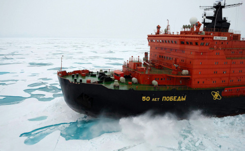 Устройство атомных ледоколов России