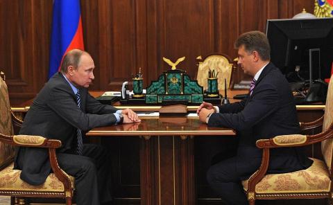 Рабочая встреча с Министром транспорта Максимом Соколовым