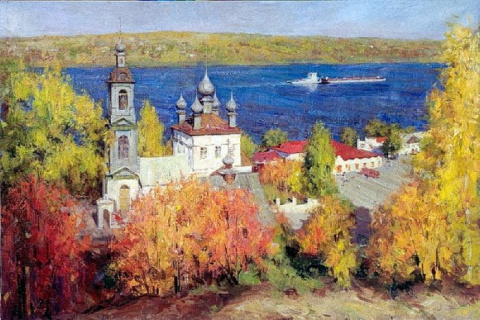 Московский художник Александр Косничев