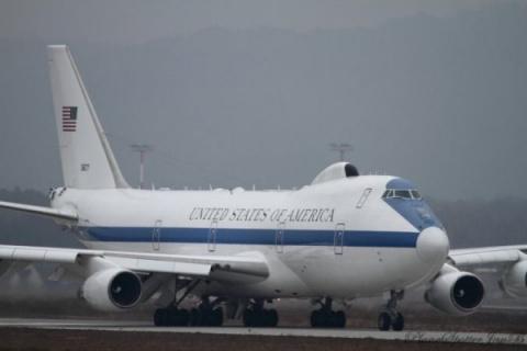 Груда металла: ураган изувечил американские «ядерные чемоданчики» E-4B