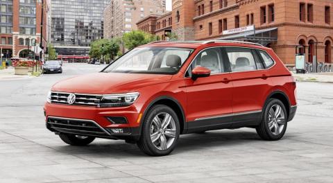 Volkswagen Tiguan получил се…