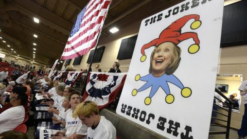 Рассеянность Хиллари Клинтон угрожает нацбезопасности США