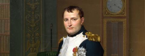 Как Наполеон поступал на слу…