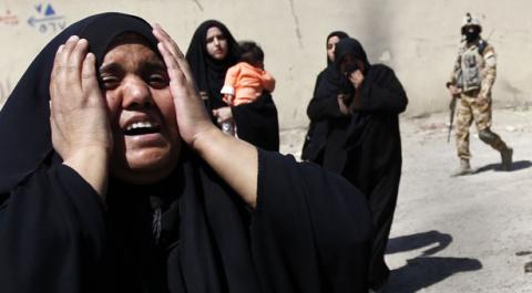 В Ираке ударом авиации убиты…
