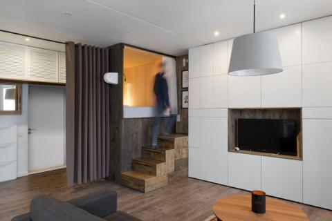 Квартира площадью 35 кв. мет…