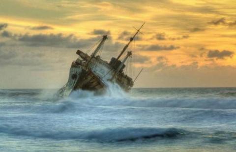 Самые удивительные кораблекрушения