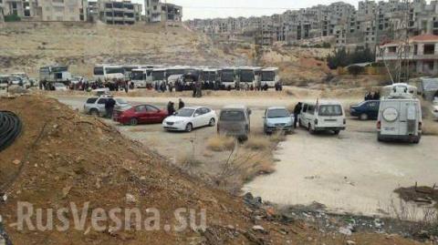 Армия Сирии ведет наступлени…
