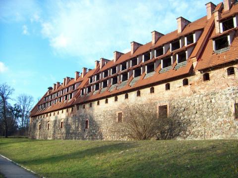 Тевтонский замок под Калинин…