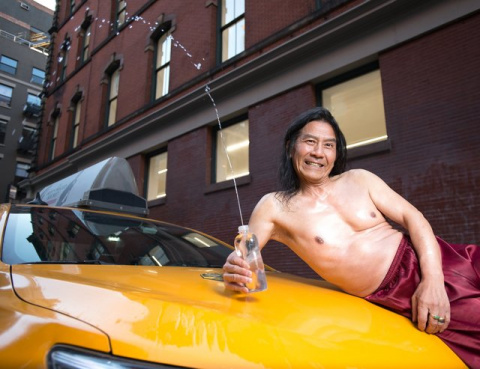 Нью-йоркские таксисты в анти…
