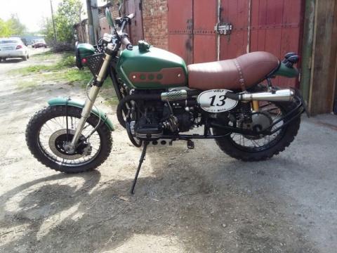 Кастомный мотоцикл URAL Scrambler oт WOLF-Customs