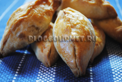 Закусочные пирожки с картошк…