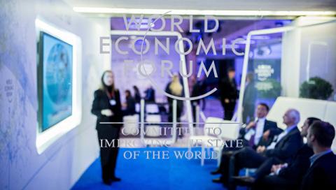 """В Кремле не разделяют """"ужаса"""" участников форума в Давосе"""