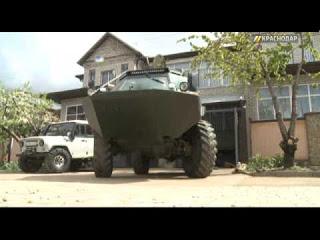 Переделка военного БРДМ-2 в …