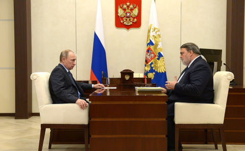 Встреча с главой ФАС России Игорем Артемьевым