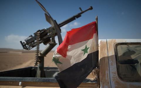 Армия Сирии вернула под свой контроль район Эль-Альяния в провинции Хомс