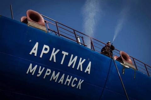 Самый мощный в мире атомный ледокол «Сибирь» спущен на воду в Петербурге