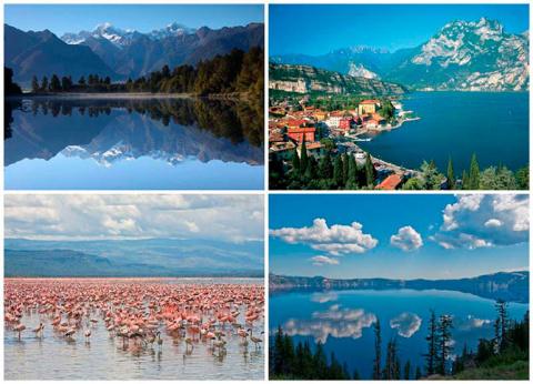 10 самых красивых озер в мире