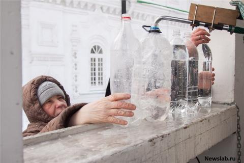 Не пить «святую» воду!