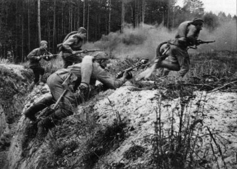 1941 год глазами немцев.