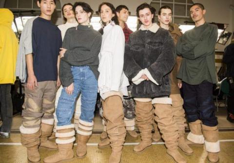 Угги-ботфорты: сенсация Недели моды в Париже