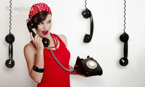 В наши дни звонить — невежливо
