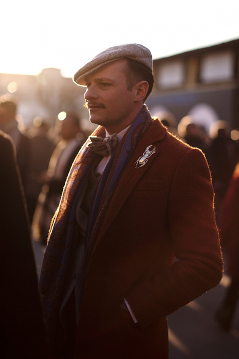 On the Street…A Dandy at Sun…