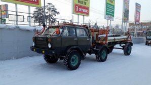 В Улан-Удэ замечен автомобил…