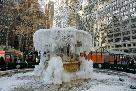 Нью-Йорк в четверг, 4 января, накроет сильная метель