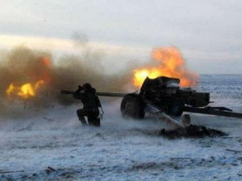 На измученной войной Украине…