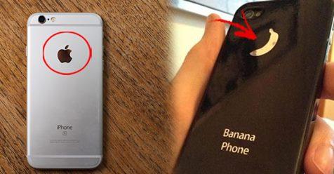 Китайцы вступили в битву с Apple! Теперь они производят «Смартфон-банан!»