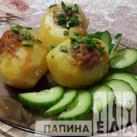 Фаршированный картофель.Очен…