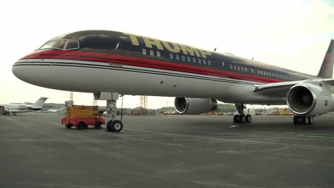 Трамп прилетел на инаугурацию в Вашингтон