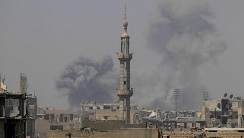 МИД Сирии направил жалобу в ООН из-за ударов коалиции по Ракке