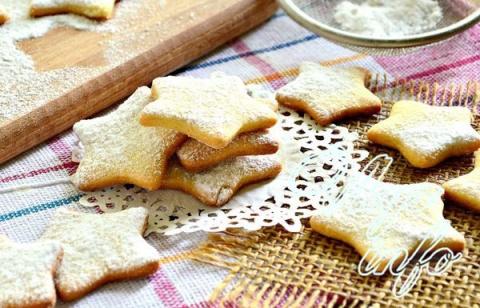 Домашнее песочное печенье на…