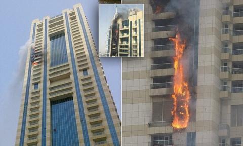 В Дубае загорелся 75-этажный…
