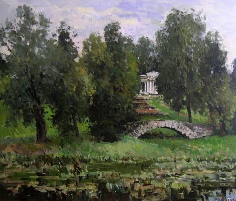 Евгений Малых. Уголки парков Царского Села и Павловска.