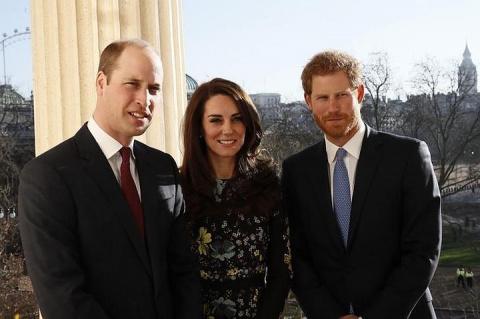 Британские принцы Уильям и Гарри снялись в новой части «Звездных войн»