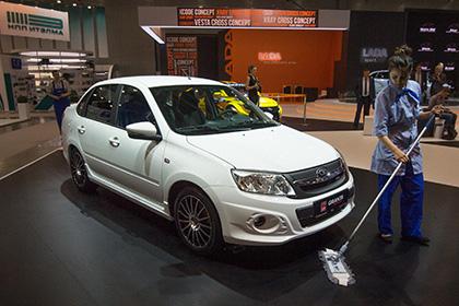 Продажи Lada Granta в Герман…