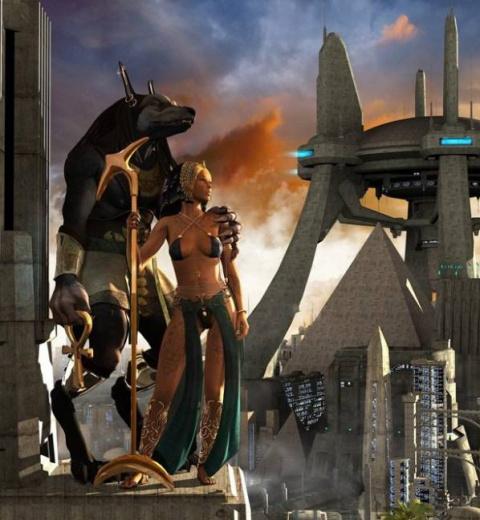 Странные боги Древнего Египта