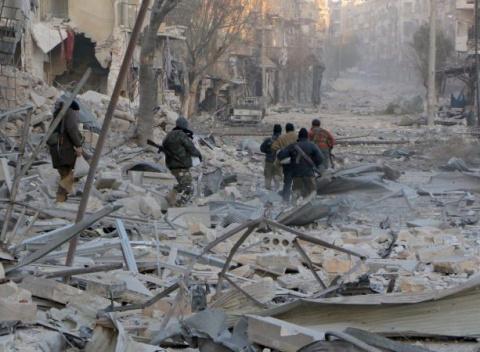 Сирия: бойцы Асада готовят м…
