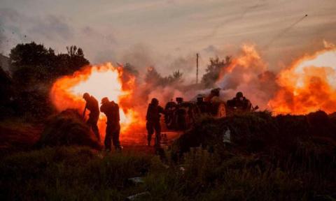 Адская ночь в ДНР — Донецк п…