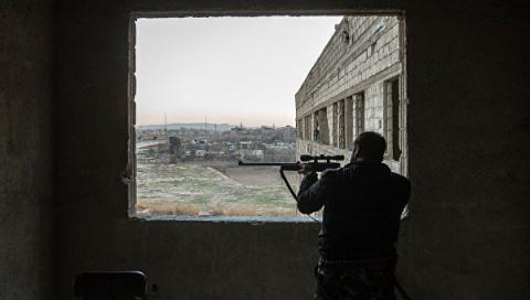 Под нажимом армии Сирии исла…