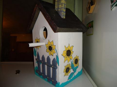 Еще один домик для скворцов!