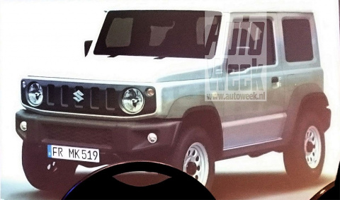 Раскрыт дизайн нового Suzuki Jimny