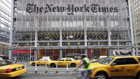 Украина возмутилась статьей New York Times с картой российского Крыма